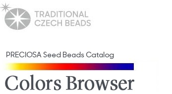 Seed Beads Colors Browser